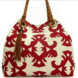 Lucky Brand Nina Tote Aztec Design